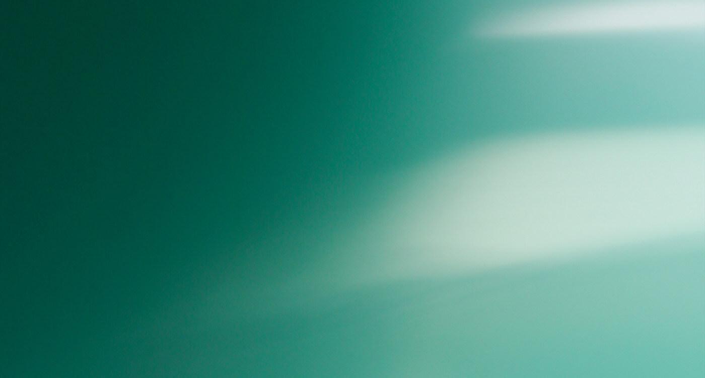 Soft green light abstract
